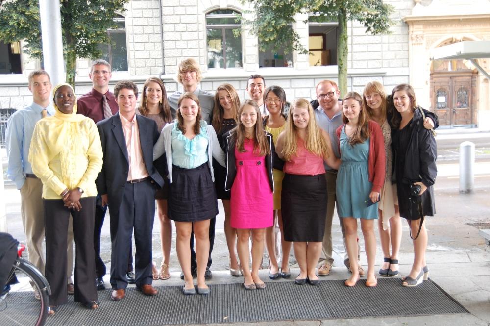Bern Meetings - July 2-3, 2012 (1/4)