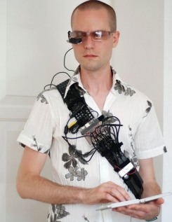 Martin Magnusson's DIY Wearable Computer
