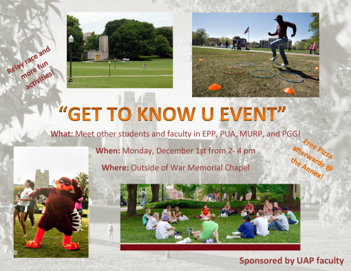 UAP Get to Know U Event
